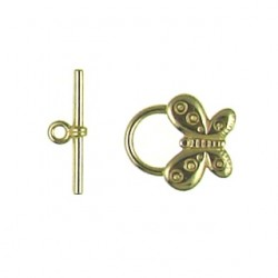 Brass Butterfly Toggle 6368 br