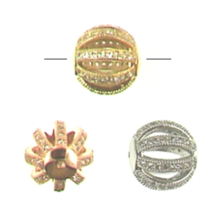 CZ135 Beads