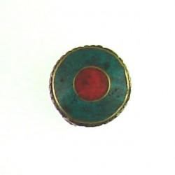 Brass Coin Bead bss-s107