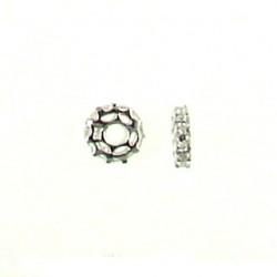 Sterling silver Crystal Roundel ss-af103