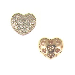 Brass Heart br-cz116