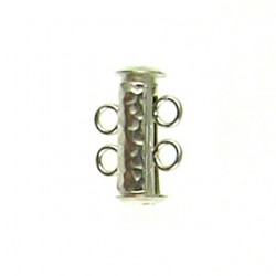 sterling silver 2 row tube 951262 ss