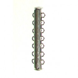 sterling silver 7 row tube 951297 ss