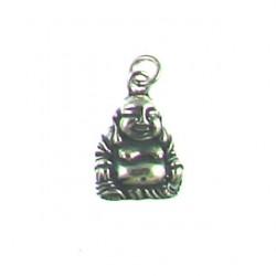 sterling silver Buddha charm 13-6197 ox