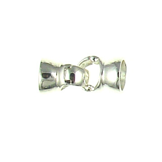 Sterling silver Cap set clasp 91-0477