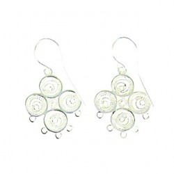 sterling silver Clover-chandelier-92-0065