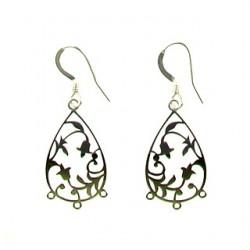 sterling silver Drop Chandelier s104277e ss