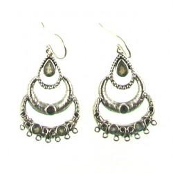 Silver Labradorite chandelier ss-ch105