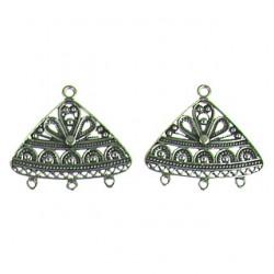 silver OX chandelier 10874 ss