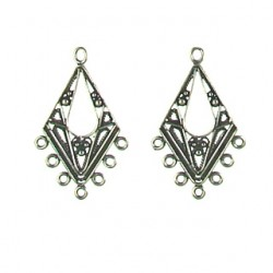 silver OX chandelier 10882 ss