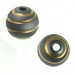 Silver ball Spiral Lines Design 5001303 ru