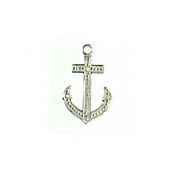 Sterling silver anchor 95-2213 ss
