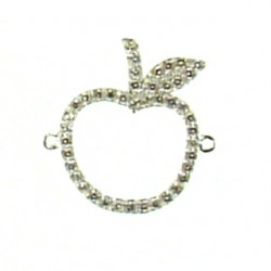 Sterling silver apple 95-2564 ss