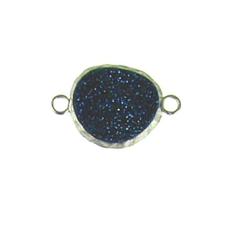 sterling silver  blue nugget ss-dr122