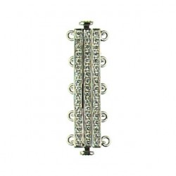 sterling silver  clasp 5 str 90348cp55 ss