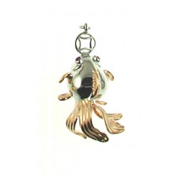 sterling silver  fish-90086cpm-rg