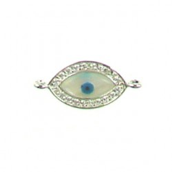 sterling silver marquee 2 hole 95-2142 ss