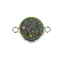 sterling silver  rainbow coin ss-dr104