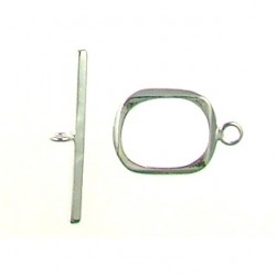 sterling silver rectangle toggle 34117