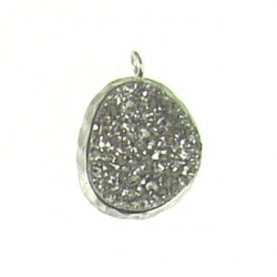sterling silver silver nugget ss-dp114