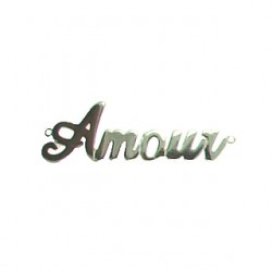 sterling silver amour 95-2593 ss