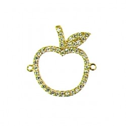 vermeil apple 95-2564 v