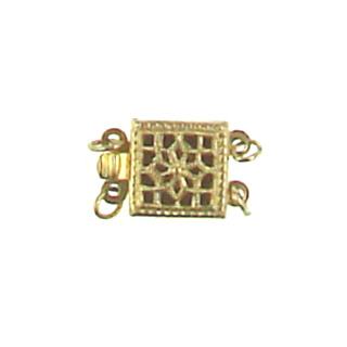 gold filled filigree-box-clasp-gf-ac101