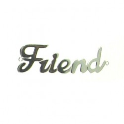 sterling silver friend-95-2594-ss