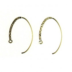 gold filled hook oval gf-e105