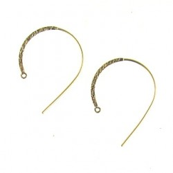 gold filled hook round gf-e106