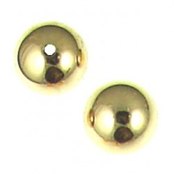 gold filled plain ball 5mm to 14mm gf-b104