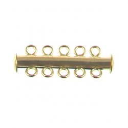 gold filled tube magnetic clasp gf-ac104