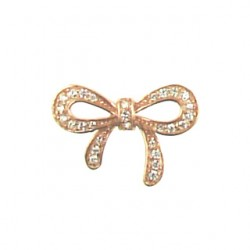 rose gold color vermeil bow-95-2575-rg