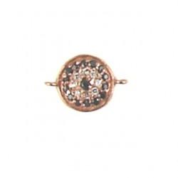rose gold color vermeil coin 95-2214 rg