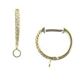 vermeil cz-earring-52-1550-v