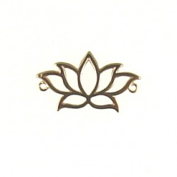 rose gold vermeil lotus flower 14-1761 rg