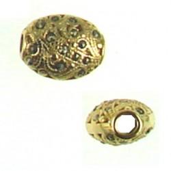 vermeil oval 95-0043 v