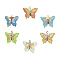 cloisonne butterfly 3 clb-3