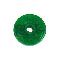green dyed jade donut gdj-p102