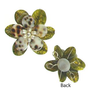 pendant flower-agate-flo-p109
