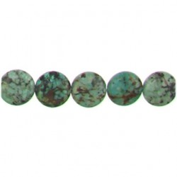 african turquoise coin aft-f106