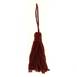 tassel dark red tas-p112