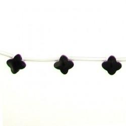 flower black dream agate bda-f115
