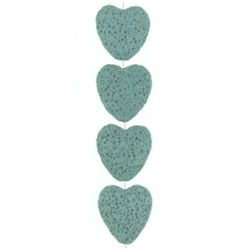 heart blue imitation lava bil-f104
