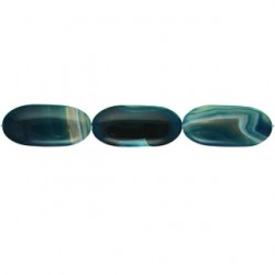 nugget Blue Dyed Agate blua-f103