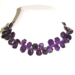 nugget faceted amethyst am-f104