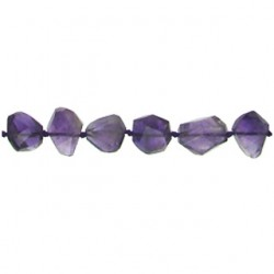 nugget faceted amethyst am-f142