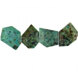 african turquoise nugget freeform aft-f103