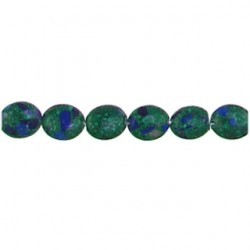 oval azurite az-f104