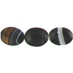 oval black dream agate bda-f112